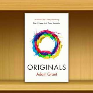 BN - Originals : How Non-conformists Change the World By Adam Grant , Foreword By  Sheryl Sandberg