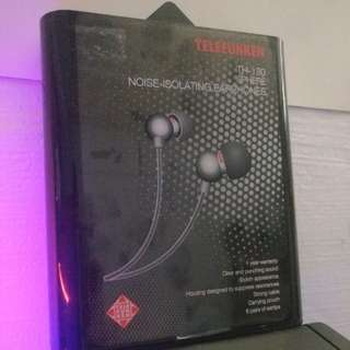 Telefunken TH-30 Sphere Noise-isolating earphones