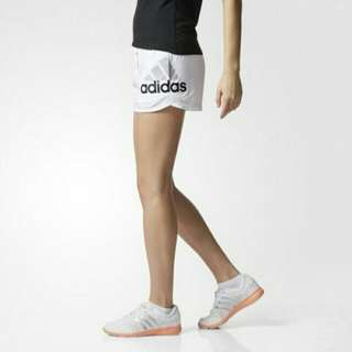 Adidas sport (白)女-運動短褲