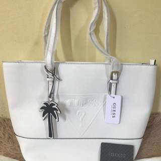 Authentic Guess tote bag.