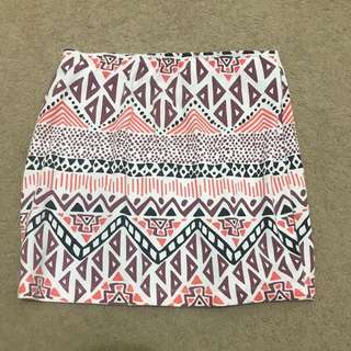 VILLIANS patterned Skirt