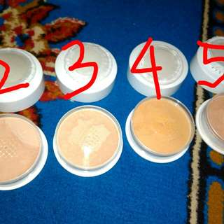 Red A loose powder