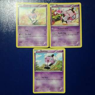 Pokemon TCG English Gothita Artwork Set!