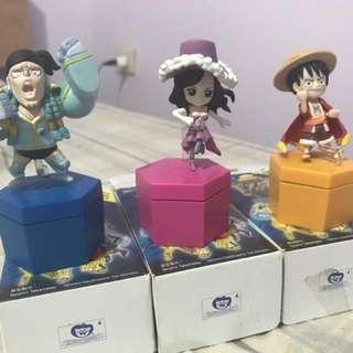 Franky•Robin•Luffy