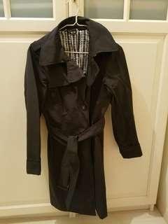 Marella 黑色Trench Coat