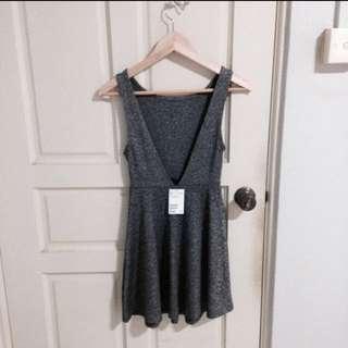 bnwt h&m backless dress