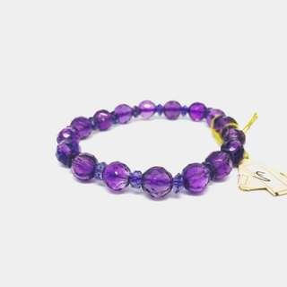 🚚 《佛緣》紫水晶手鍊