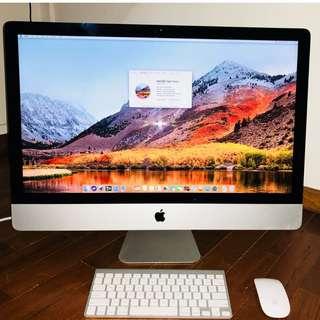 Apple iMAC 27-inch, 1TB HDD, 16GB RAM, 3.2GHz Core i5, 1GBDisplay, Slim Model @ 1300$