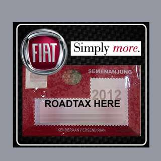 Road Tax Sticker - FIAT