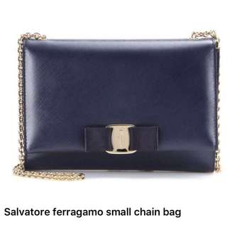 全新 Ferragamo Chain bag