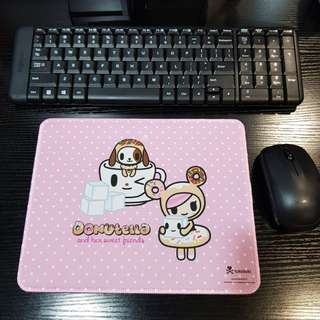 Inspired Donutella Non-Slip Mouse Pad