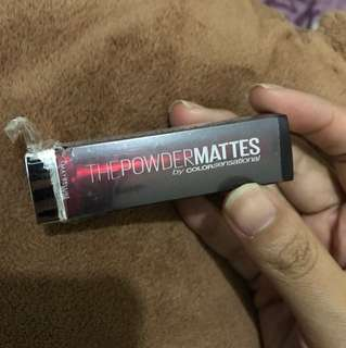 Maybelline Powder Mattes Shade Noir Red