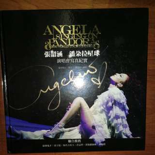Angela zhang AUTHENTIC signature book 张韶涵