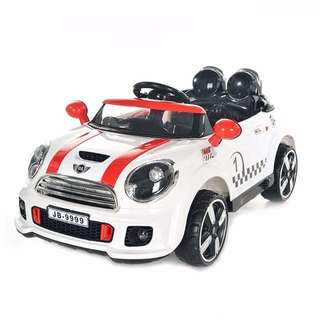 Kids Mini Cooper sports car toy car kiddy ride