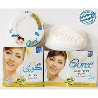 Goree Beauty Cream Set (Soap + Cream)