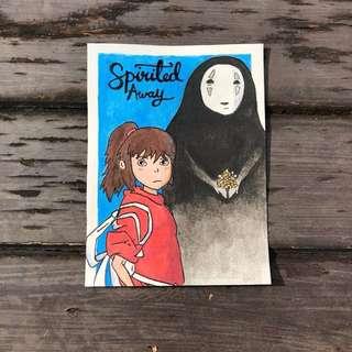 Spirited Away Handmade Card