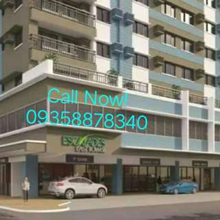 Near Gateway , Smart Araneta 5% Down To Move In
