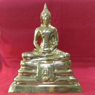 "Wat Sothorn, 9"" Inches Phra Buddha Sothorn Bucha BE:2536"