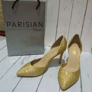 Parisian Juliet Heels in Gold Champange (Free Shipping in Metro Manila)
