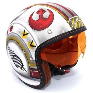Star wars Xwing pilot helmet