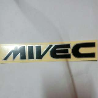 Car Sticker Mivec