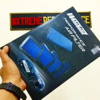 ORIGINAL WORKS AIR FILTER WISH 1.8/ 2.0 2003 - 2008/ CAMRY 1998 - 2001/ ALTIS 2002 - 2007/ CALDINA N/A