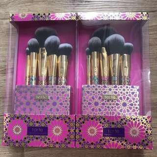BNIB Authentic Tarte Treasured Tools Brush Set *Damage packaging*