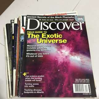 FREE Science Magazine Discover