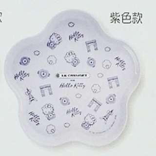 台灣LC x kitty花型大托盤