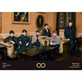 (Instock sealed) Infinite vol-3 Top Seed