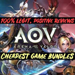Cheap Arena of Valor AOV game diamonds bundles