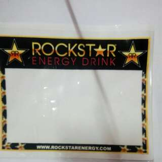 Roadtax sticker Rockstar
