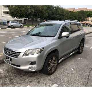 7 Seater Toyota SUV for lease
