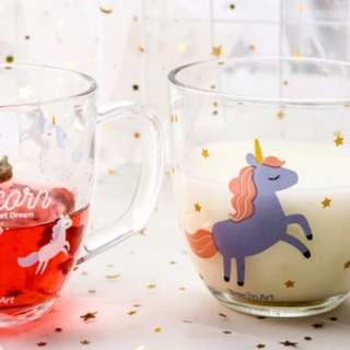 Unicorn Transparent Cup