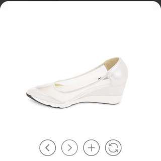 Silver Wedges From My Glamourous, Size 37