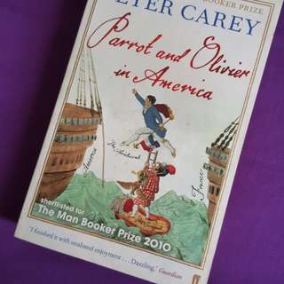 Parrot and Olivier in America by Peter Carey #swap