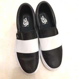 Vans snake skin platform shoes women
