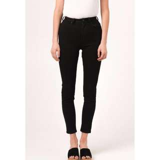 NEW Afends High Waist Skinny Jeans size 6 princess polly