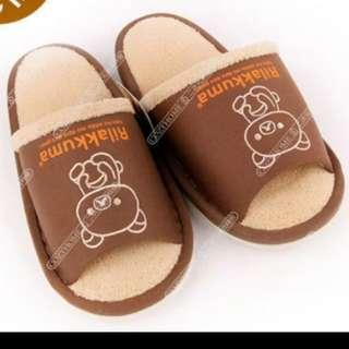 正版 鬆弛熊 拖鞋