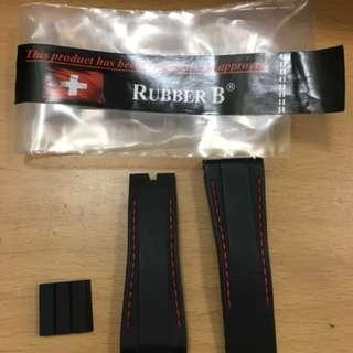 rubber b daytona rubber strap 膠帶