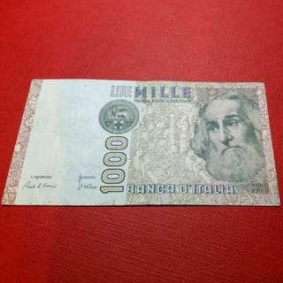 1982 ITALY - 1.000 Lire