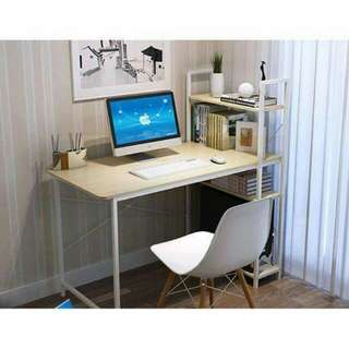 Desktop Table With Bookshelf (FREE SHIPPING)