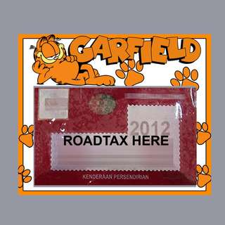 Road Tax Sticker - Garfield