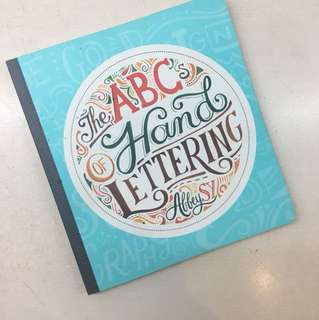 Abbey Sy's ABC Hand Lettering!