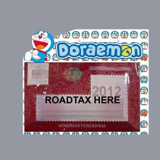 Road Tax Sticker - Doraemon