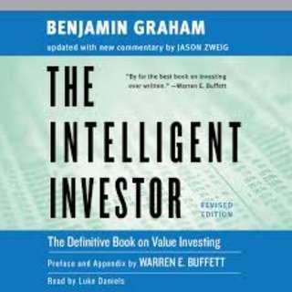 The Intelligent Investor by Benjamin Graham (EBOOK)