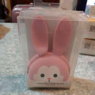 兔仔形矽膠散紙包(粉紅)