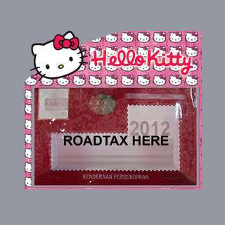 Road Tax Sticker - Hello Kitty