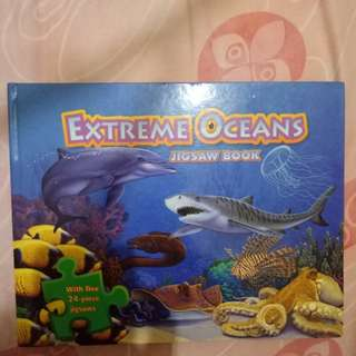 Jigsaw Puzzle Book Extreme Ocean