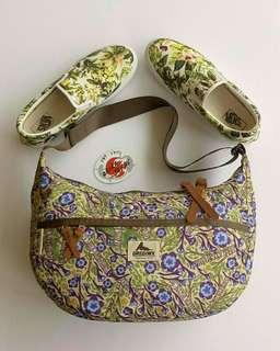 Gregory Satchel X Vans Floral